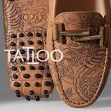 Zapato de estampado tatoo de la colección 'Gommino' de Tod's para verano 2017