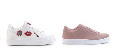 Sneakers de la nueva colección de verano 2017 de Merkal