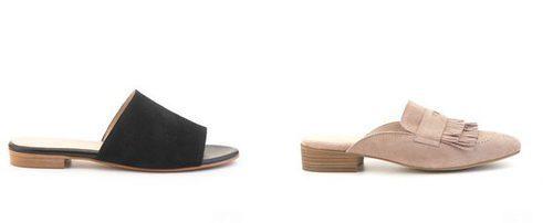 zapatos destalonados de la nueva colección de verano 2017 de Merkal