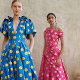 Vestidos de lunares de la Colección Resort 2018 de Carolina Herrera