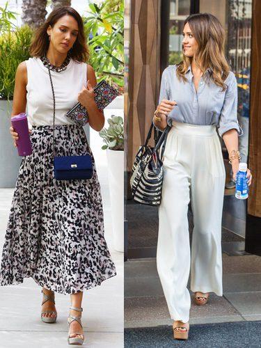 Street Style Jessica Alba