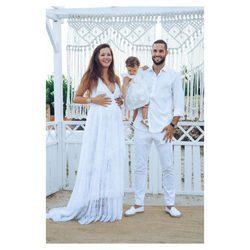 La evolución de los estilismos de Malena Costa: de modelo a icono de la maternidad