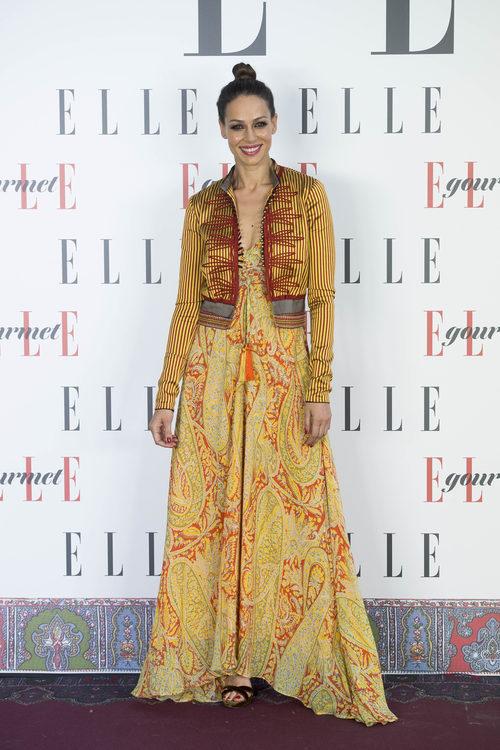 Eva González con un look étinico
