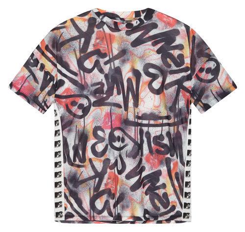 Camiseta con estampado de graffiti de la colección colaborativa 'ASOS x MTV'