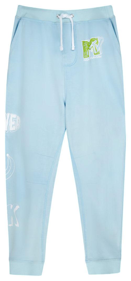 Pantalones chandal azules de la colección colaborativa 'ASOS x MTV'