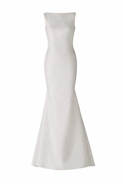 Vestido con silueta de sirena de la colección Atelier 2018 de Pronovias