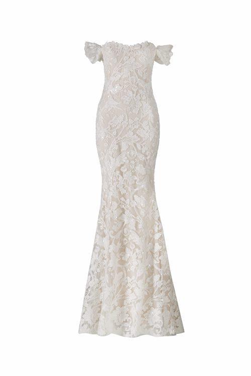 Vestido de encaje de la colección Atelier 2018 de Pronovias