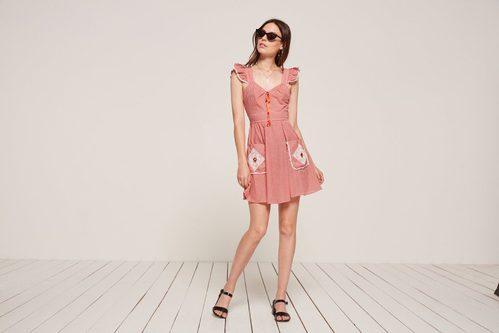 Vestido de Picnic de la colección vintage 2017 de Reformation