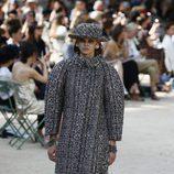 Abrigo abombado de la colección otoño/invierno de Alta Costura de Chanel para 2017/2018