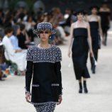 Conjunto de pedrería de la colección otoño/invierno de Alta Costura de Chanel para 2017/2018