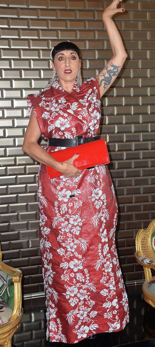 Rossy de Palma con un Kimono largo