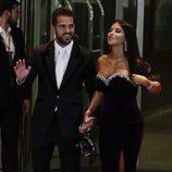 Daniella Semaan, novia de Cesc Fabregas, en la boda de Leo Messi