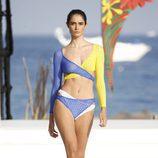 Bikini tricolor de Andrés Sardá para la colección 'High Season' en MBFW IBIZA