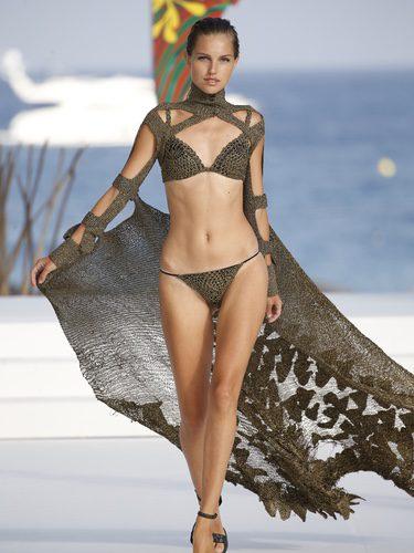 Bikini de crochet de Andrés Sardá para la colección 'High Season' en MBFW IBIZA