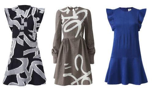 Vestidos de la colección de H&M y la tienda parisina Colette