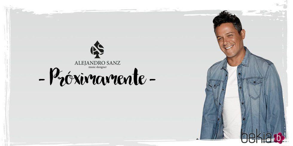 Alejandro Sanz anuncia su marca de moda