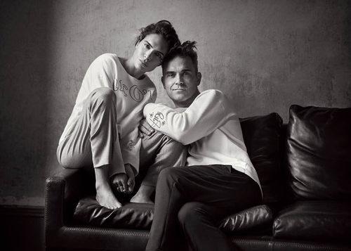 Sudaderas de la colección de Robbie Williams y su mujer Ayda para MARCO O' POLO