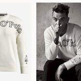 Sudaderas masculinas de la colección de Robbie Williams y MARCO O' POLO