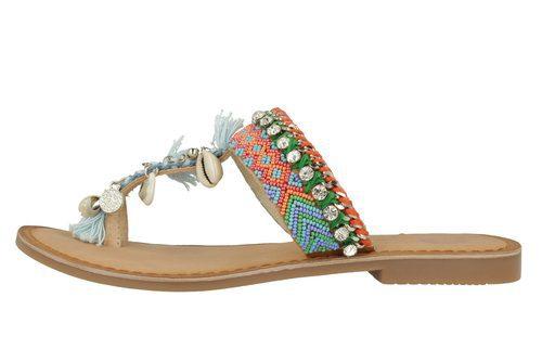 Sandalias boho con abalorios de la colección 'Bali' de Gioseppo