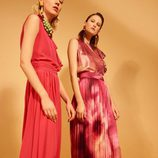 Vestidos con falda plisada de la colección 'Heaven' de Dolores Promesas
