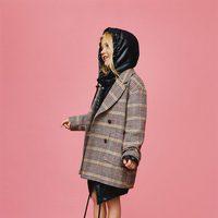 Abrigo de paño de Zara Kids otoño/invierno 2017/2018