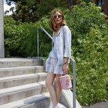 Bolso rosa de la colección 'Olivia Palermo x Meli Melo Collection'