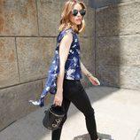 Bolso negro de la colección 'Olivia Palermo x Meli Melo Collection'