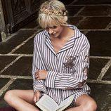 Camisón a rayas de la colección de Primark firmada por Harry Potter