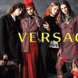 Gigi Hadid, Taylor Hill, Mica Argañaraz y Vittoria Ceretti, embajadoras de la campaña otoño/invierno 2017/2018 de Versace