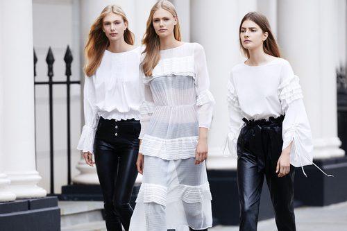 Camisas de color blanco de Lefties otoño/invierno 2017/2018