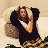 Falda de cuadros de Zara Trafaluc otoño/invierno 2017/2018