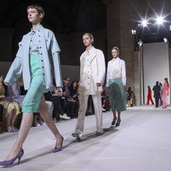 Desfile primavera/verano 2018 de Victoria Beckham en la New York Fashion Week