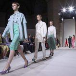 Pasarela de Victoria Beckham colección primavera/verano 2018 en la New York Fashion Week