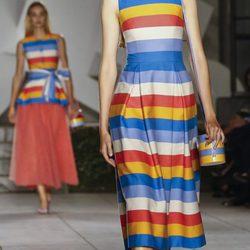 Desfile primavera/verano 2018 de Carolina Herrera en la New York Fashion Week