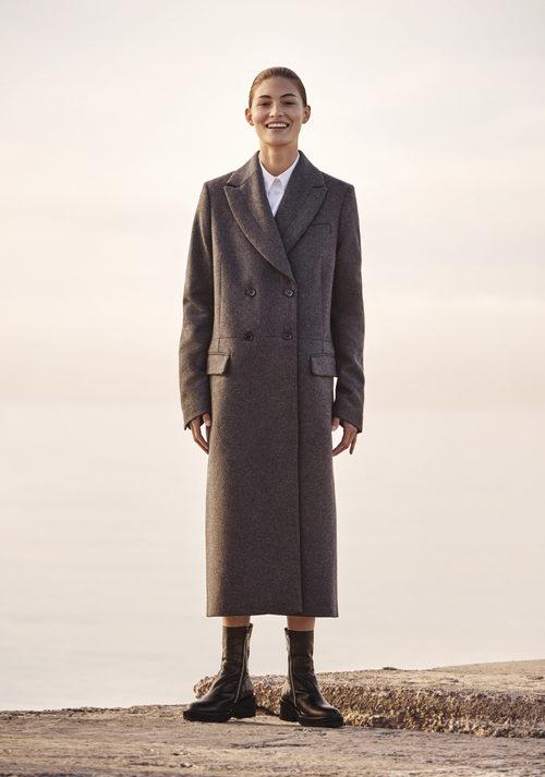 Abrigo de paño de H&M Studio otoño/invierno 2017/2018