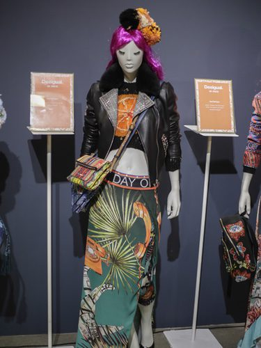 Showing de la nueva colección primavera/verano 2018 de Desigual en la Madrid Fashion Week