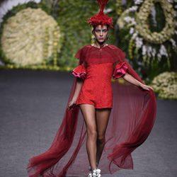 Desfile primavera/verano 2018 de Francis Montesinos en la Madrid Fashion Week