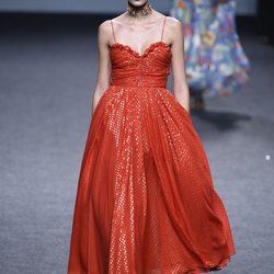 Desfile de María Escoté colección primavera/verano 2018 para Madrid Fashion Week