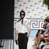 Pantalón recto de Jorge Vázquez primavera/verano 2018 en la Madrid Fashion Week