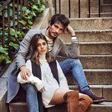 Andrés Velencoso y Dulceida posan con botas y botines en la nueva campaña de Carmela otoño/invierno 2017/2018