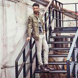 Jesús Castro posa con botas para la nueva campaña de Refresh otoño/invierno 2017/2018