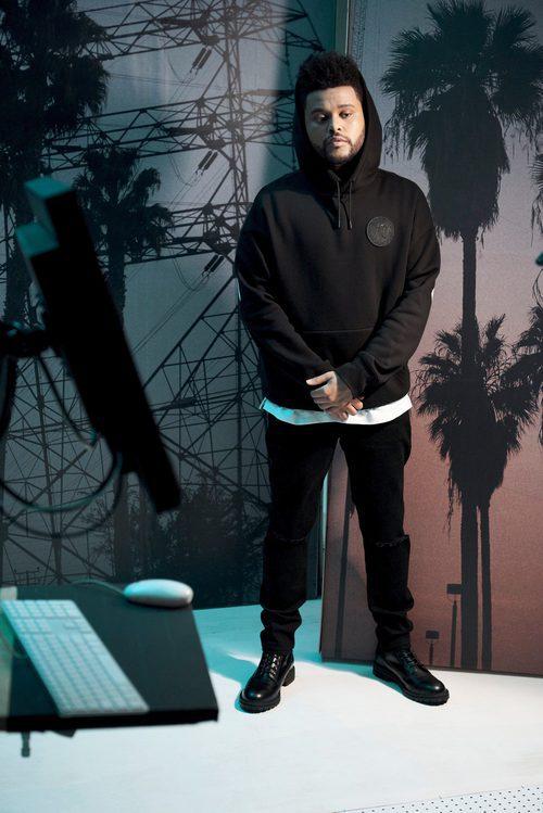 Sudadera negra de la nueva colección de H&M con The Weeknd otoño/invierno 2017/2018