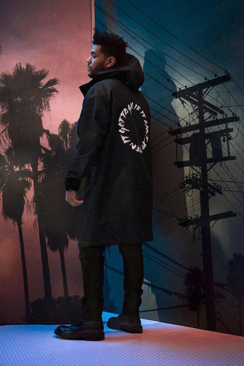 Sudadera negra larga de la nueva colección de H&M con The Weeknd otoño/invierno 2017/2018