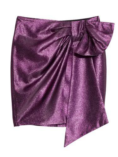 Falda brillantes rosa de la nueva colección & Other Stories otoño/invierno 2017/2018
