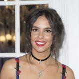 Cristina Pedroche lleva un recogido con raya al medio en la presentación de Morellato 2017