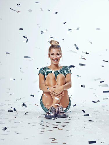Jessica Goicoechea como imagen de la colección otoño/invierno 2017/2018 de B3D