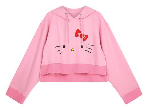Sudadera rosa de la colección de Hello Kitty para Asos de otoño/invierno 2017/2018