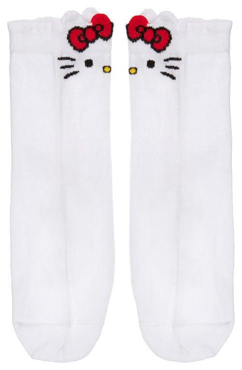 Calcetines blancos de la colección de Hello Kitty para Asos de otoño/invierno 2017/2018