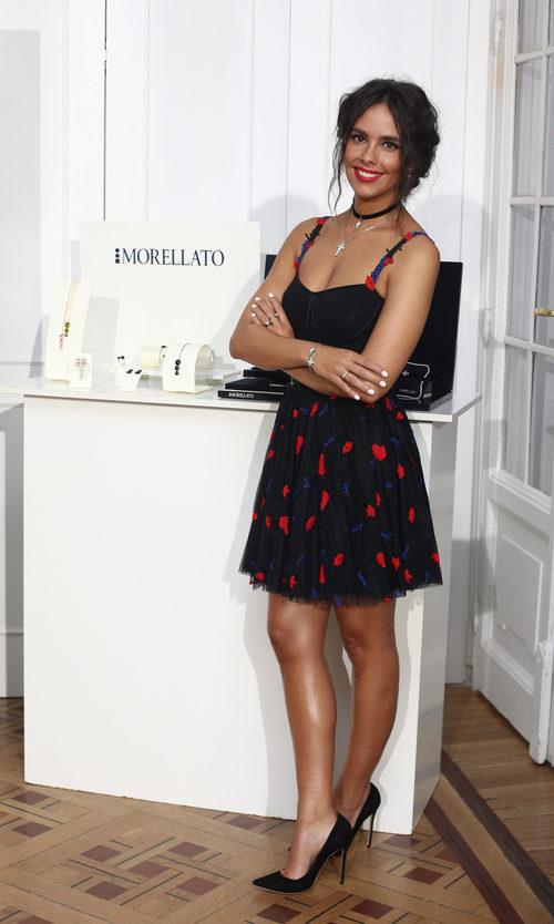 Cristina Pedroche junto a su colección de joyas de Morellato