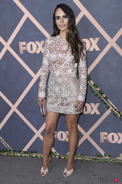 Jordana Brewster en la Fox Fall Party 2017